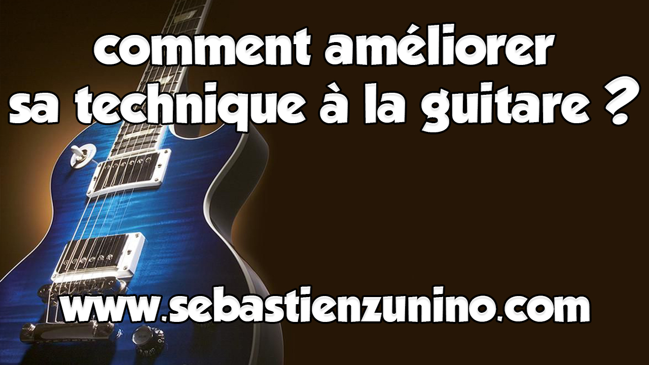 Comment ameliorer sa technique