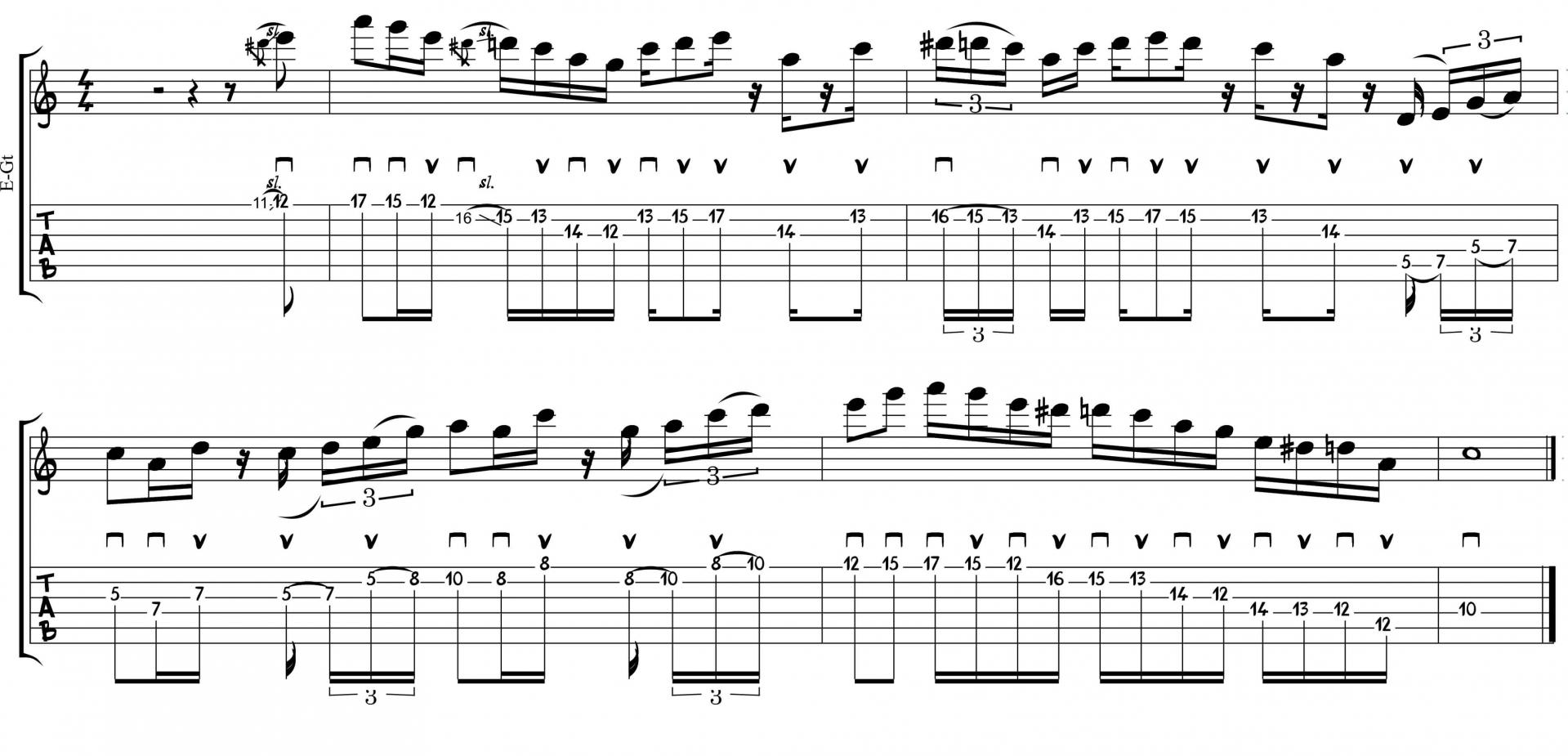 Lick metheny 1