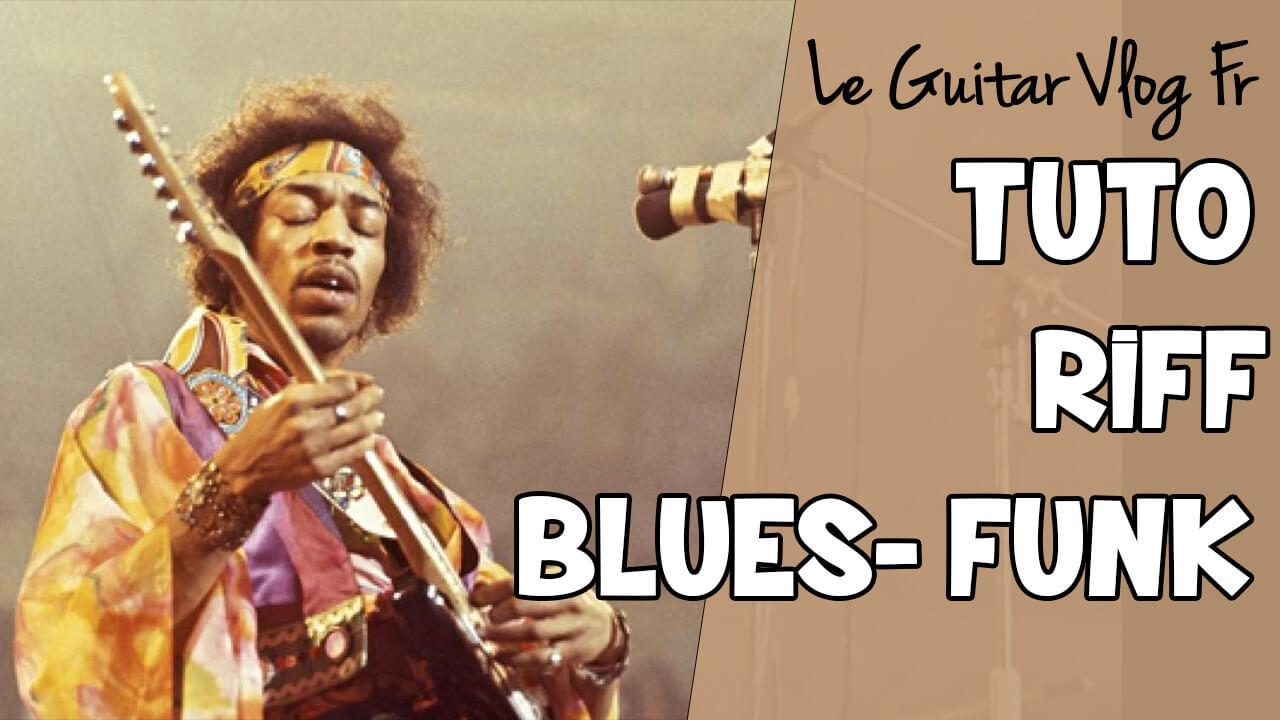 Riff blues funk