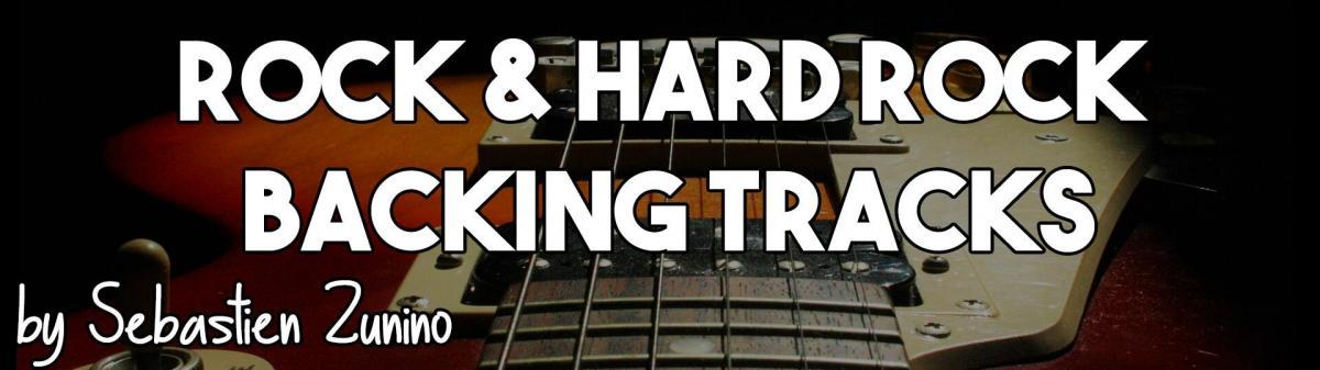 Rock backing track