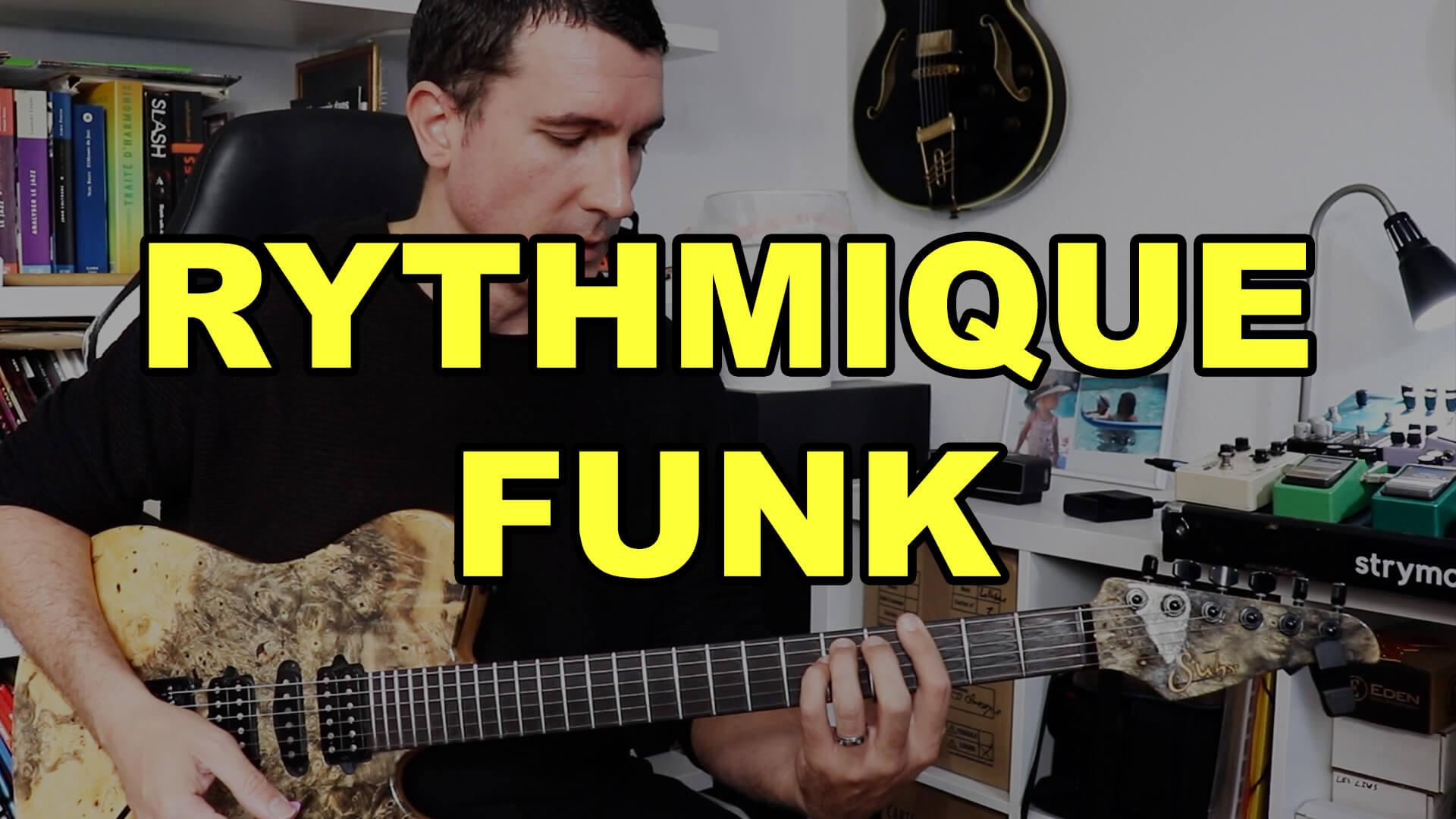 Rythmique funk 1
